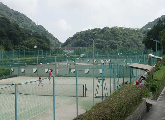 テニス場4